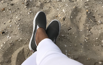 Shamis Pitts in Sag Harbor, NY-Shamis2020.com Wellbeing Campaign